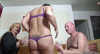 Real German Duo In Female Casting with Big Tit MILF