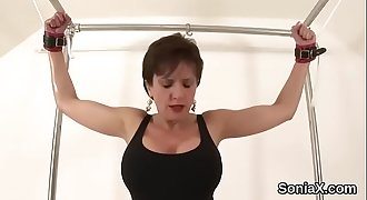 Unfaithful british mature lady sonia pops out her large knock Video