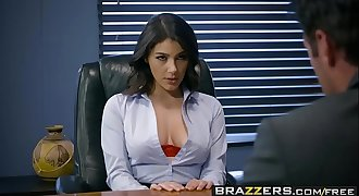 Brazzers - Big Tits at Work -  Pushing Boundaries scene starring Valentina Nappi and Charles Dera