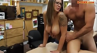 Slender college chick railed by pawn dude