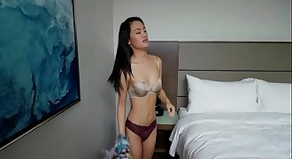 asian fucked in the couch part 1