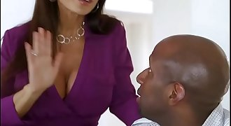 Sissy cuckold spouse watches wife with BBC part 2 at wifesharedoncam dot com