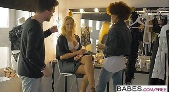 Babes.com - The Black Corset Odyssey Part 1  starring  Cherry Smooch and Luke Hotrod clip