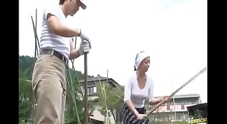 Farmer MILF Fucks Her Worker- -- Still Limp Dick? Visit: nolimp.com