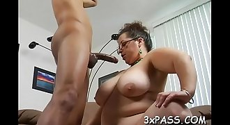 Great sex with corpulent bitch