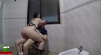 Horny schoolgirl seeks to be penetrated by a cock that spits cum CRI170